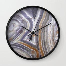 Raw Crazylace Agate 1651 Wall Clock