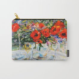 Bouquet on the table Carry-All Pouch