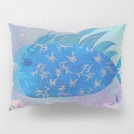 Dreamy Flying Fish Hot Air Balloon  Pillow Sham