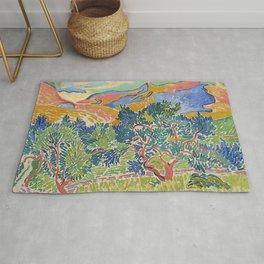 Good Mountain by Henri Matisse Rug