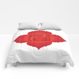 Muladhara Root Red Chakra Comforters