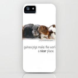 the Madness. iPhone Case