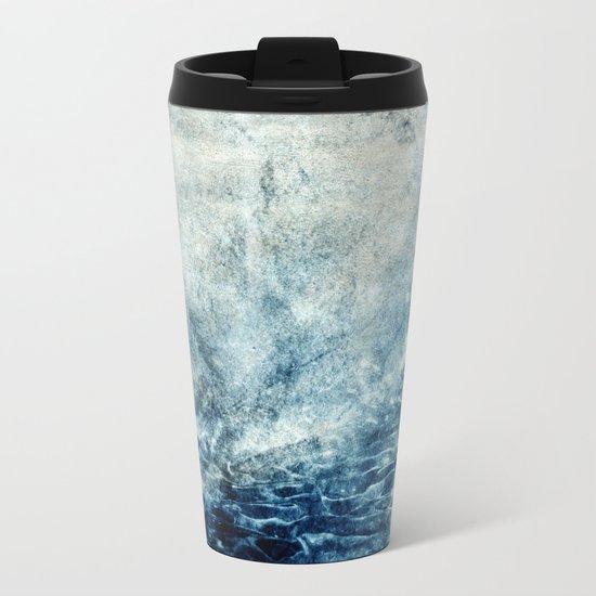 Abstract II Metal Travel Mug