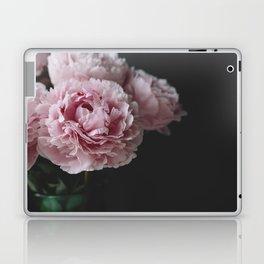 Peonies on Black No. 2 Laptop & iPad Skin
