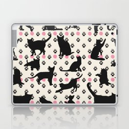Mischievous Cats Laptop & iPad Skin