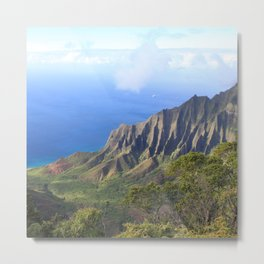 Kalalau Valley Metal Print