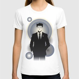 Phoenix wright ace attorney at law print by ben huber for Phoenix t shirt printing