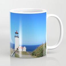 Lighthouse at Olympic National Park seaside, Seattle.  Mug