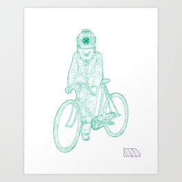 I Think... We Are Almost There. Art Print