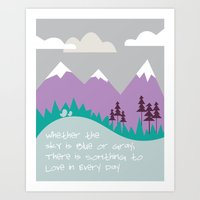 Love In Every Day Art Print