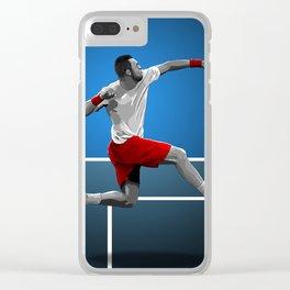 Jo-Wilfried Tsonga Clear iPhone Case