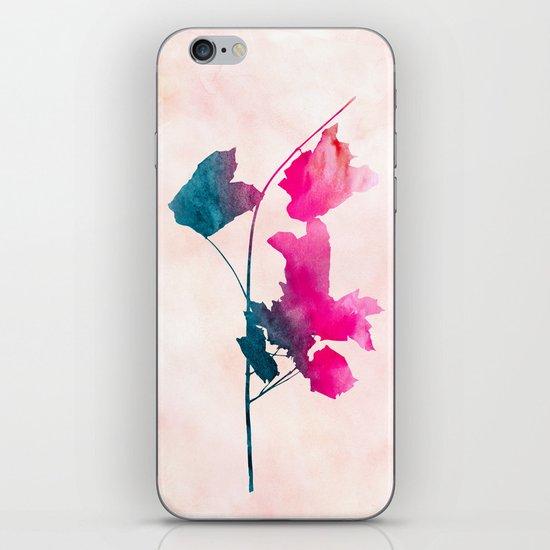 maple 1 watercolor by Jacqueline Maldonado & Garima Dhawan iPhone & iPod Skin