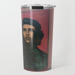 Che Guevara In A Havana Doorway Travel Mug