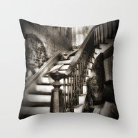 nicki Throw Pillows featuring Stairway to heaven by Tnt intimate photo