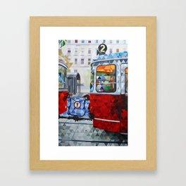 La Estacion, The Station Framed Art Print