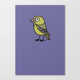 Greenfinch Canvas Print