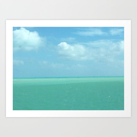 The Beauty of Florida Art Print