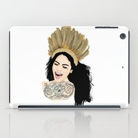 india iPad Cases featuring India by ElodieD