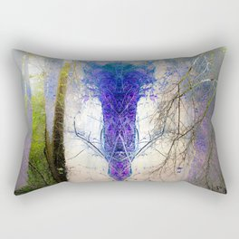 He waits inside the forest Rectangular Pillow