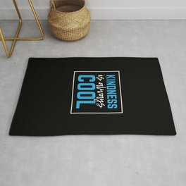 Kindness Is Always Cool Gifts Nice Back To School Gifts Rug