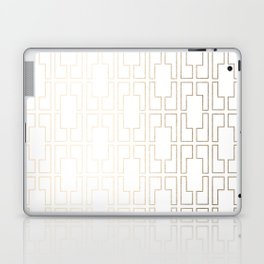 Simply Mid-Century in White Gold Sands Laptop & iPad Skin