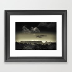 Stored in the Cloud Framed Art Print