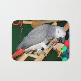 Doobie the parrot Bath Mat