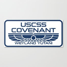 USCSS Covenant - Weyland Yutani - with border Canvas Print