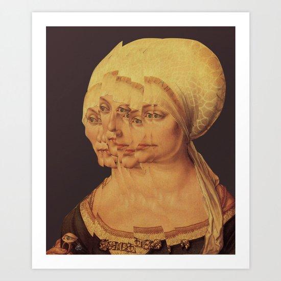 Frau Dürer 201 Art Print