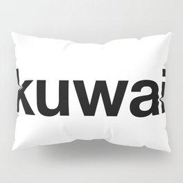 KUWAITI Hashtag Pillow Sham
