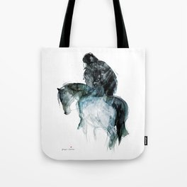 Horse (Ghost rider) Tote Bag