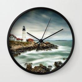 The Portland Headlight Wall Clock