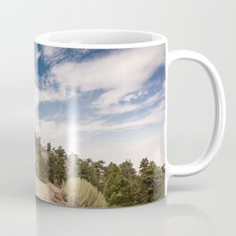 Hiking trail along Pacific Crest Trail in Southern California Coffee Mug