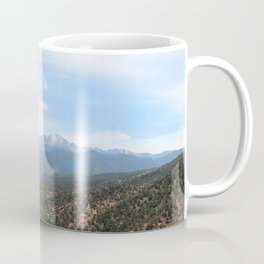 Spectacular View of Pike's Peak Coffee Mug