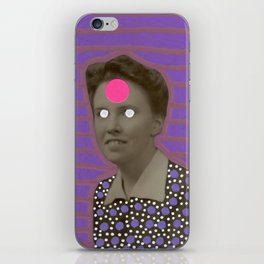 Alien Portrait iPhone Skin