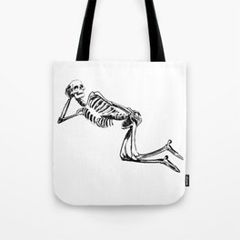 DRAW ME LIKE ONE OF YOUR FRENCH SKELETONS Tote Bag