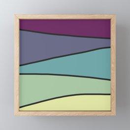 Purple Saw 2 Framed Mini Art Print
