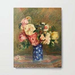 Pierre-Auguste Renoir - Bouquet of Roses Metal Print