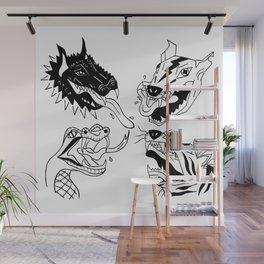 Beasts Wall Mural