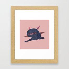 Free little guy Framed Art Print