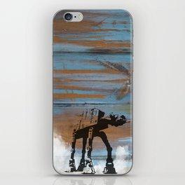 Blue Hoth iPhone Skin