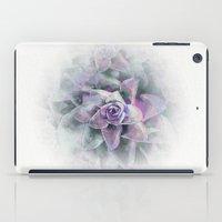 succulents iPad Cases featuring Succulents by Klara Acel