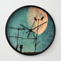 guardians Wall Clocks featuring THE GUARDIANS by MadiS