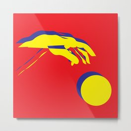 The creation of Adam I Metal Print