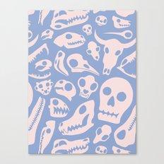 Soft Skulls Canvas Print