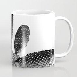 Black White Cactus #1 #plant #decor #art #society6 Coffee Mug