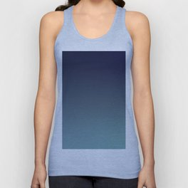 NIGHT SWIM - Minimal Plain Soft Mood Color Blend Prints Unisex Tank Top
