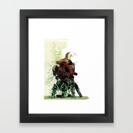 The Blue One Framed Art Print