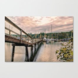 Bainbridge Harbor Canvas Print