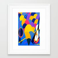 tool Framed Art Prints featuring Tool by takingachancexo